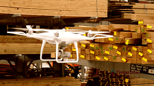 Drone Flying Warehouse