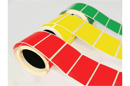 Colour Label Rolls