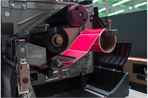 Colour Printer Label