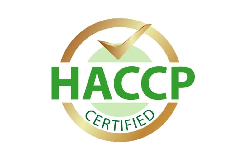 HACCP Certified 2