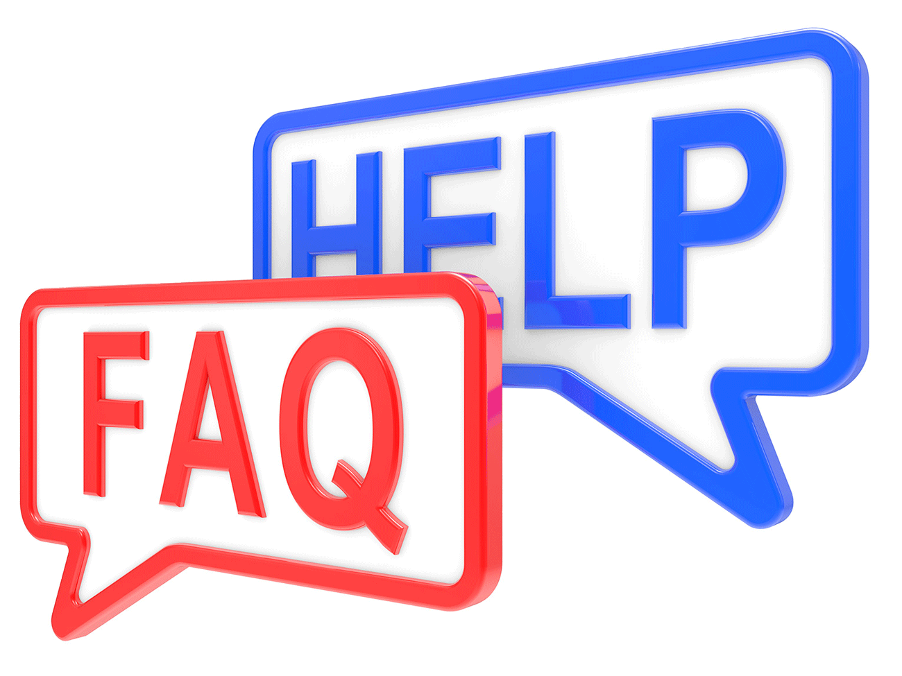 Help FAQ Signs