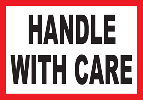 Handle With Care White