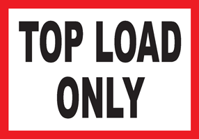 Top Load Only WHITE