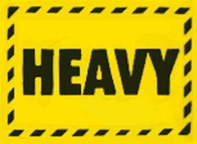Heavy Fluro Yellow
