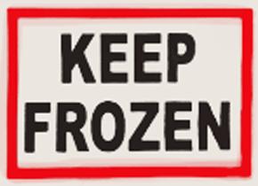 Keep Frozen White
