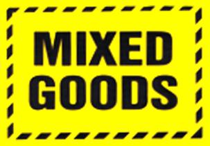 Mixed Goods Fluro Yellow