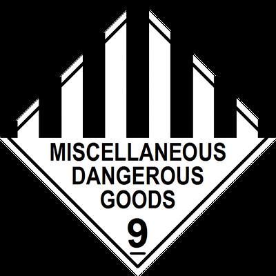Miscellaneous Dangerous Goods Label