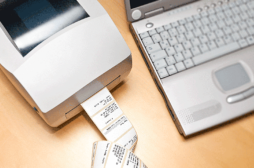 Direct Thermal Desktop Label Printer