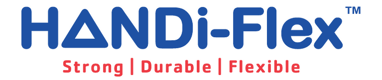 HANDi-Flex Logo - this is our strong, durable and flexible labels.