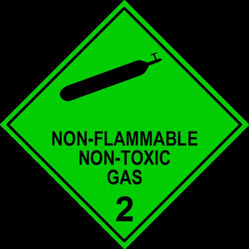 Non Flam Non Toxic Gas 2