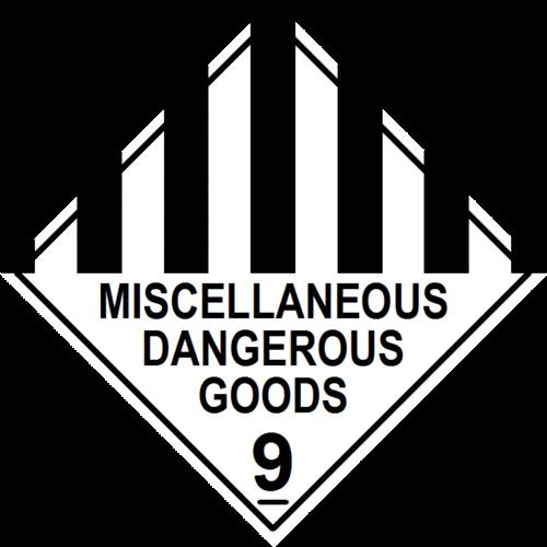Misc 9 Dangerous Goods